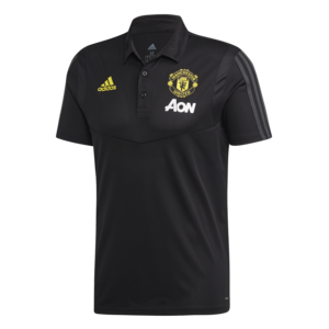 Adidas MUFC Polo Noire 19-20.