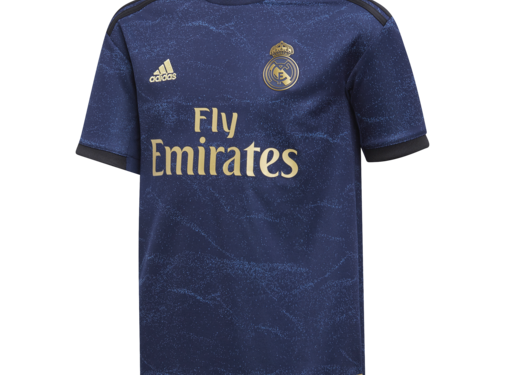 Adidas Real Away Jsy JR Bleu 19-20.
