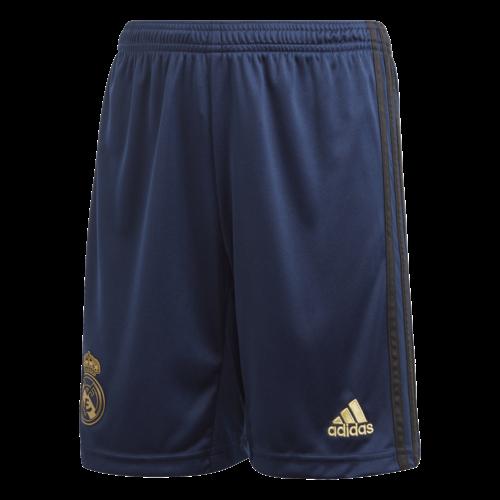 Adidas Real Away Short Bleu JR 19-20.
