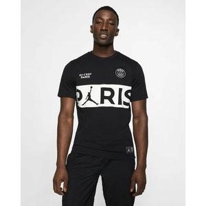 Nike Psg SS Tee Black-white 19-20.