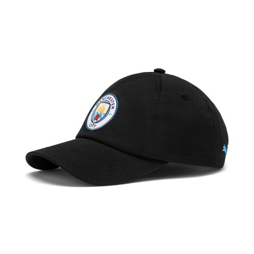 Puma MCFC Team Cap Black-team 19-20.