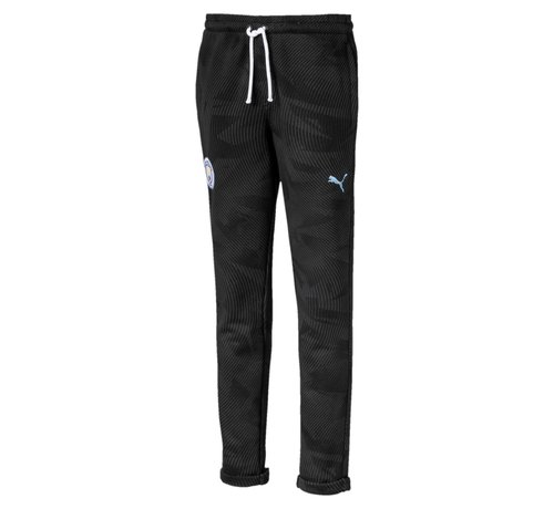 Puma MCFC Casuals Pants JR Black 19-20.
