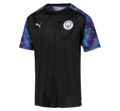 Puma MCFC Training Jersey Black-teamlight 19-20.