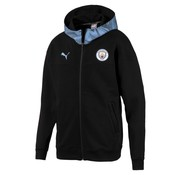 Puma MCFC Casuals Zip Hoody Black 19-20.