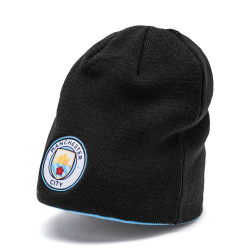 Puma MCFC Revers Beanie Black-team 19-20.
