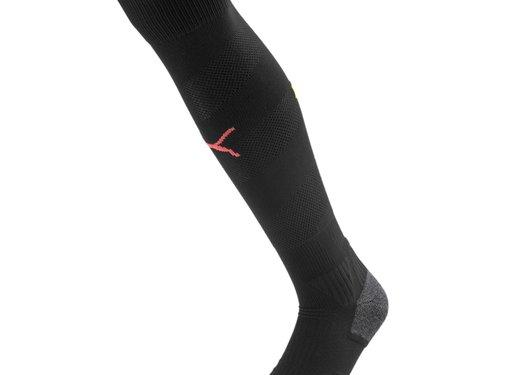 Puma MCFC Spiral Sock Black 19-20.