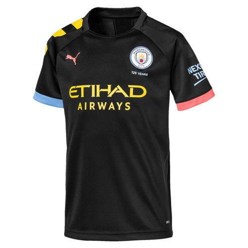 Puma MCFC Away Shirt JR Noir 19-20.