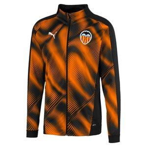 Puma Valence Stadium Jkt Black-orange 19-20.