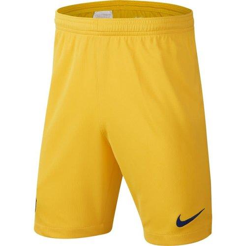 Nike Fc Barca Brt Short Jaune 19-20.
