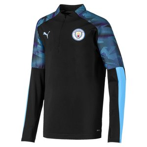 Puma MCFC 1/4 Zip Top JR Black 19-20.