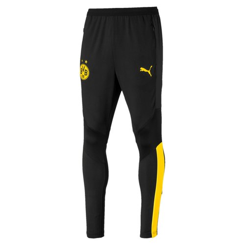 Puma BVB Training Pants Noir-jaune 19-20.