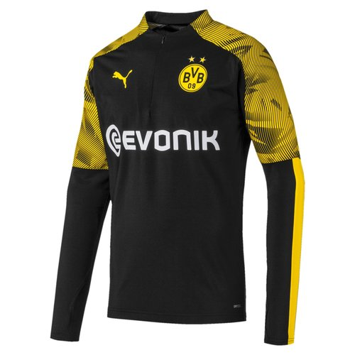 Puma BVB 1/4 Zip Top Black 19-20.