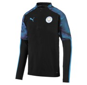 Puma MCFC 1/4 Zip Top Black 19-20.