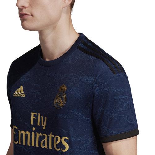 Adidas Real Away Jsy  Bleu 19-20.