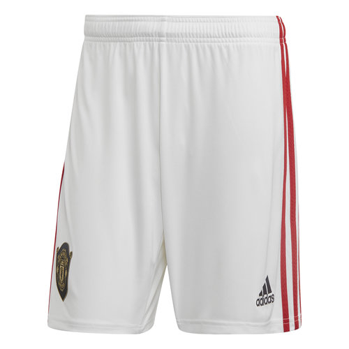 Adidas Mufc Home Short Blanc 19-20.