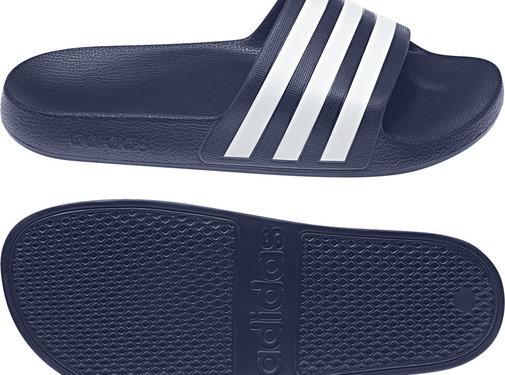 Adidas Adilette Aqua Bleu-blanc