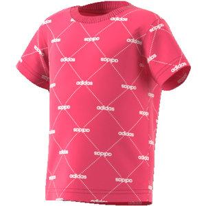 Adidas Lin Graph Tee Rose-blanc