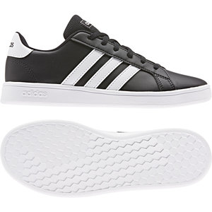 Adidas Grand Court K Noir-blanc