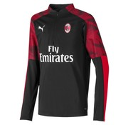 Puma AC Milan 1/4 Zip Top Black 19-20.