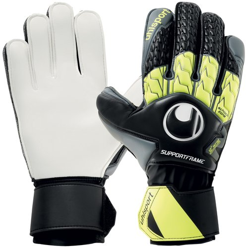 Uhlsport Soft SF Gloves Black/Yellow