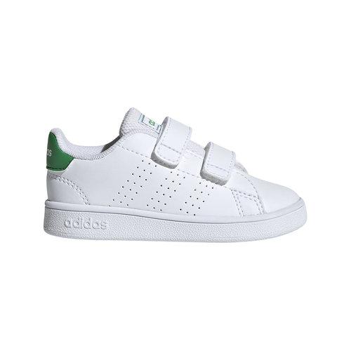 Adidas Advantage Infant White/Green