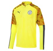 Puma Mcfc 1/4Zip Top Yellow