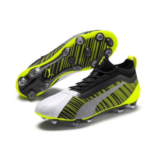 Puma One 5.1 FG/AG White/Black/Yellow