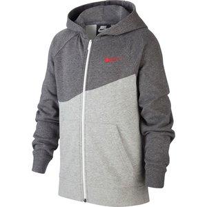 Nike Nsw Swoosh Hood Fz Jr Grey h