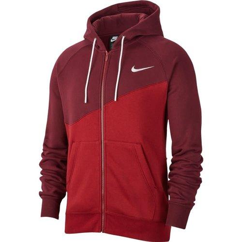 Nike Nsw Swoosh Hoodie Fz Teamred