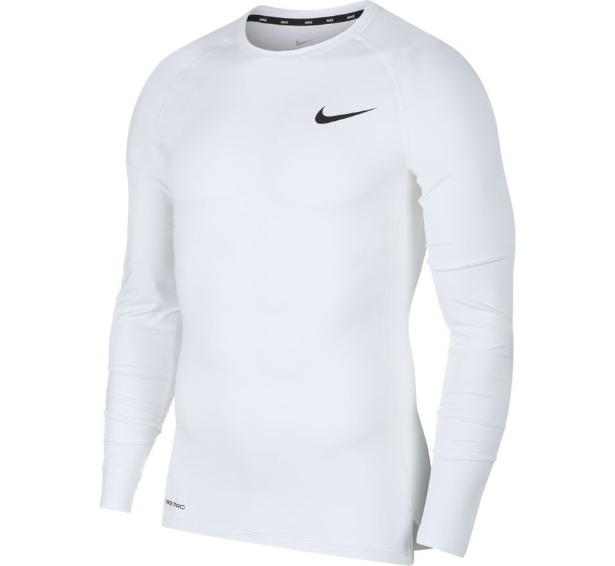 Nike Pro Long Sleeve White