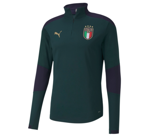 Puma Italia Training 1/4 Zip top Ponde