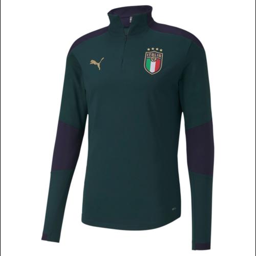 Puma Italia Training 1/4 Zip top Ponde