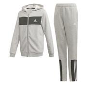 Adidas Cotton Tracksuit Grey