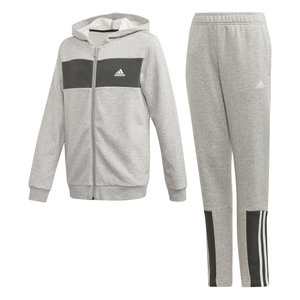 Adidas Cotton Tracksuit Grey
