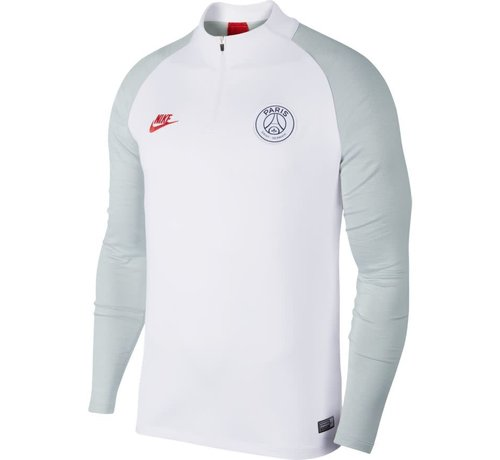 Nike Psg Nk Dry Strk Drill Top White