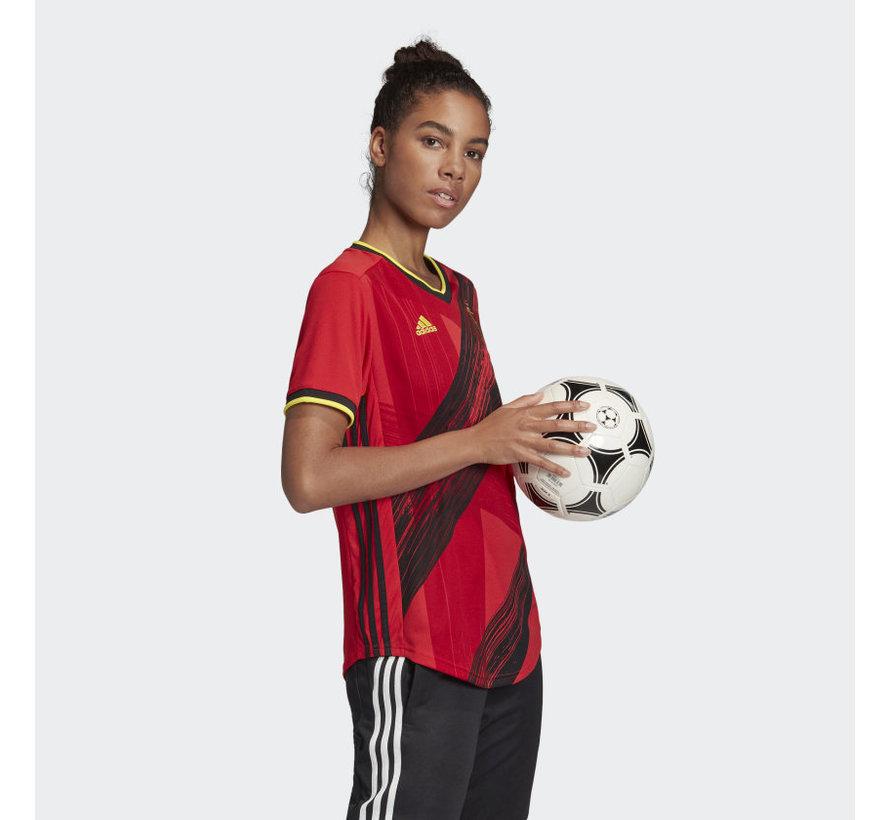 RBFA H Jsy Women Rouge Euro20.