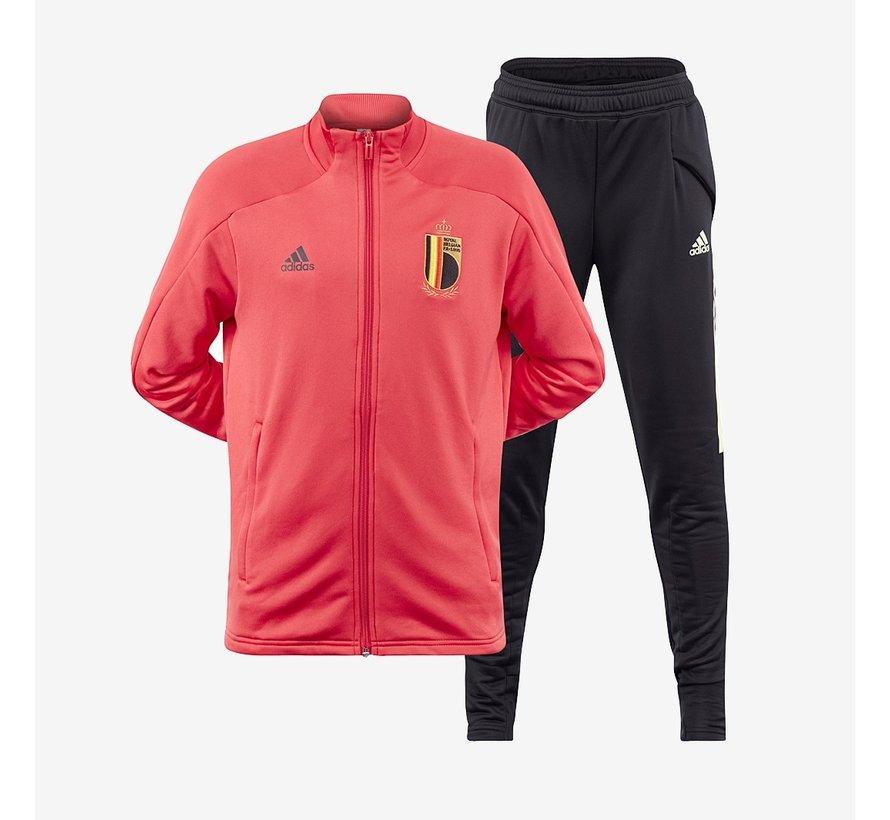 RBFA Tk Suit JR Rouge-noir Euro20.