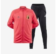 Adidas RBFA Tk Suit Rouge-noir Euro20.