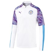 Puma Mcfc 1/4 Zip Top White 19-20.
