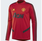Adidas Mufc Tr Top Rouge 19-20.