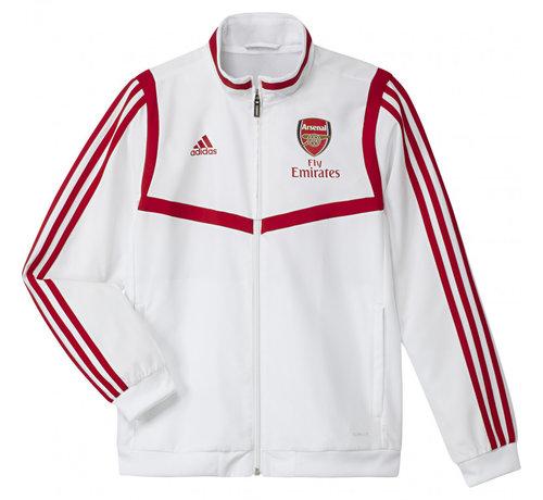 Adidas JR Arsenal Pre Jacket White 19/20