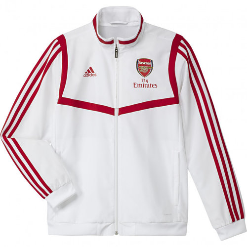 Adidas JR Arsenal Pre Jacket White 19/20
