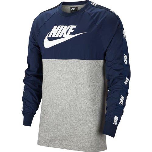 Nike Nsw Top Hybrid T-s LsGrey