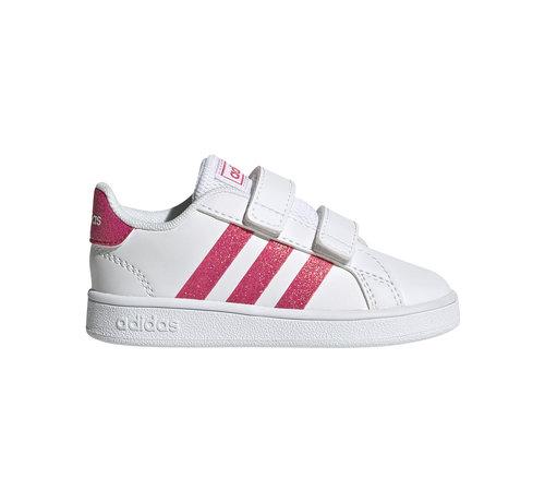 Adidas Grand Court White Pink
