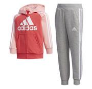Adidas Fullzip Suit Pink/grey