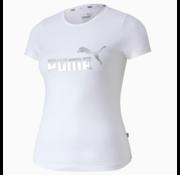 Puma Ess Tee Girl White