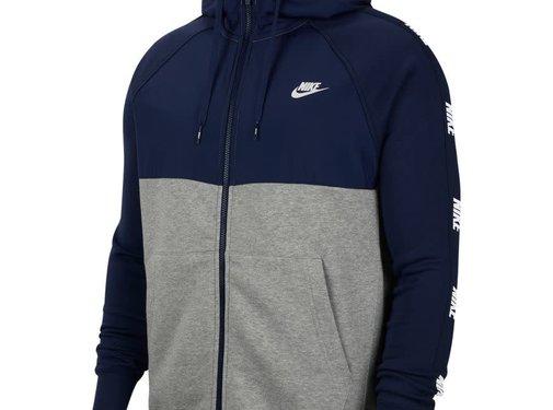 Nike Nsw Hoodie Fz Hyb Mnnavy
