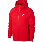 Nike Tech Fleece Fz Hood Rouge