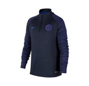 Nike CFC Nk Dry Drill top Jr Bleu