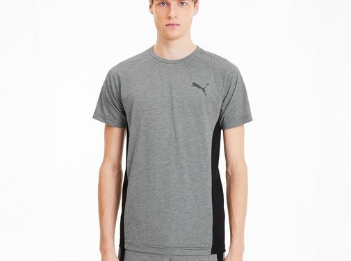 Puma EVOstripe Tee Medium Gray